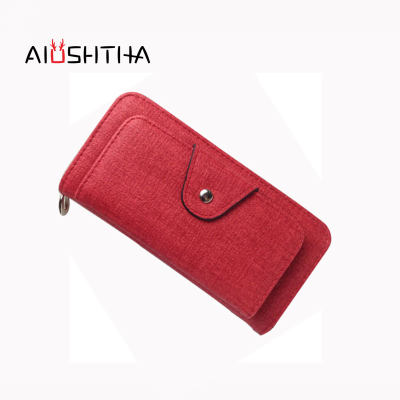 women wallets leather purses long card holder for ladies 2017 new women's wallet large cell phone money bags for girl coin purse top brand genuine leather wallets for men women large capacity zipper clutch purses cell phone passport card holders notecase