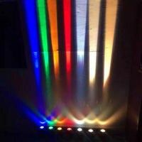 10W UM feixe de luz  parede de luz LED spotlight lâmpada lâmpada luz remoto ultra narrow telhado à prova d' água ao ar livre Frete grátis