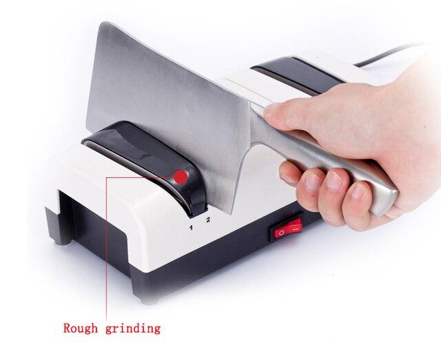 Affûteuse de couteau de cuisine électrique automatique multifonctionnelle de diamant de haute précision affûteuse rapide de couteau