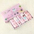 Южная Корея Хлопок детская Underwear Продаже Штучной Упаковке Girls'brief Мультфильм Детей