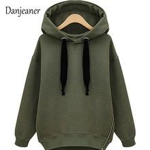 купить Danjeaner Autumn Women Hoodie Casual Long Sleeve Hooded Pullover Sweatshirts Hooded Female Jumper Women Tracksuits Sportswear по цене 737.94 рублей