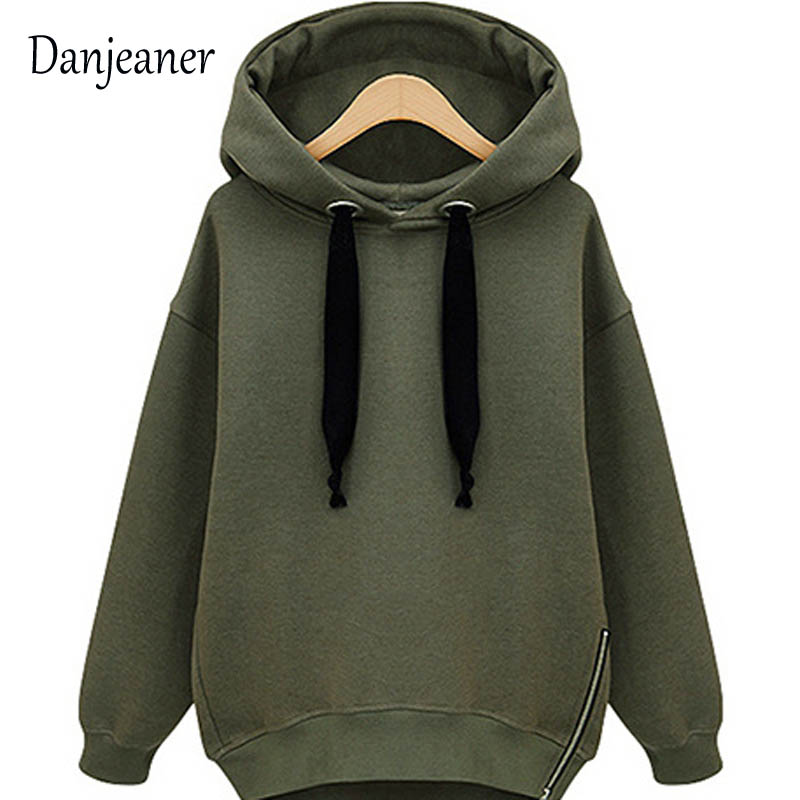 Danjeaner Autumn Women Hoodie Casual Long Sleeve Hooded Pullover Sweatshirts Hooded Female Jumper Women Tracksuits Sportswear