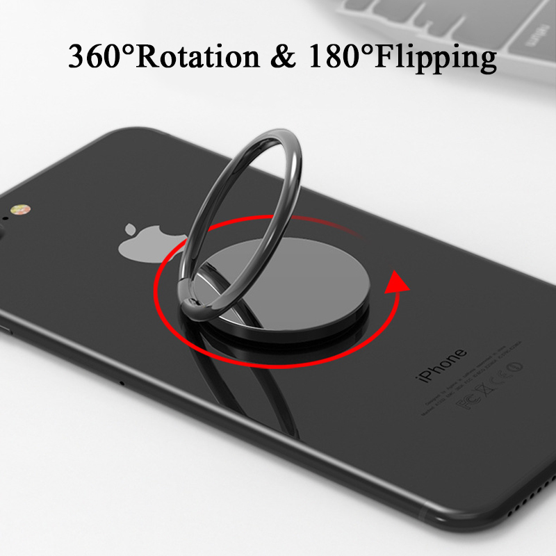 Univerasl 360 Degree Mobile Phone Finger Ring Holder For Xiaomi For Huawei Stand For Samsung Mobile Phone Holder For iPhone