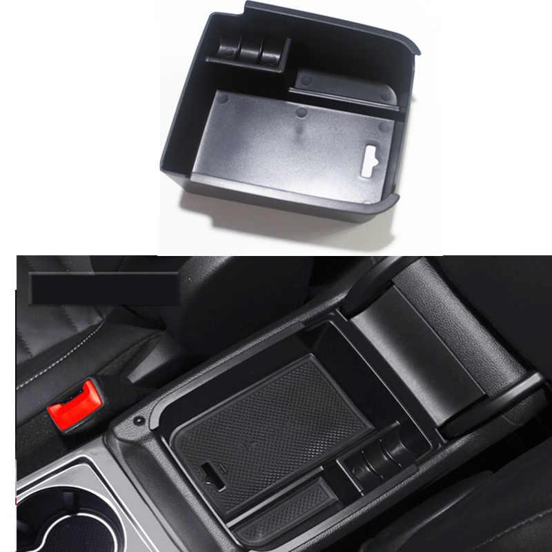 HIGH FLYING 2017 2018 2019 2020 for Jeep Compass Interior Accessories Armrest Storage Glove Box Organizer Holder Container Black 1 Piece