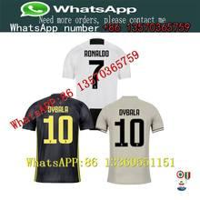 ca909e012 2018 Thai Quality RONALDO JUVENTUS Soccer +patch T-shirt Men JUVEntus CR7 9  Higuain