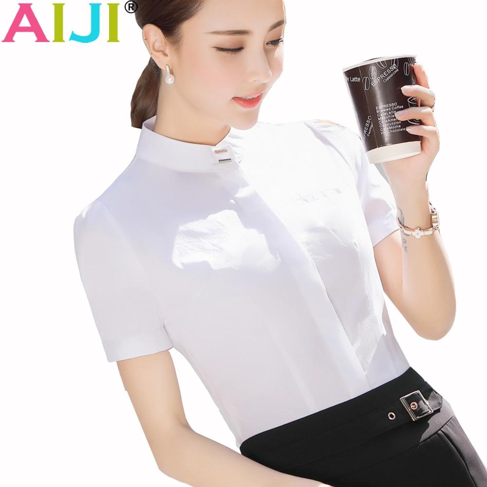 Online Get Cheap Womens Work Shirts Short Sleeve -Aliexpress.com ...