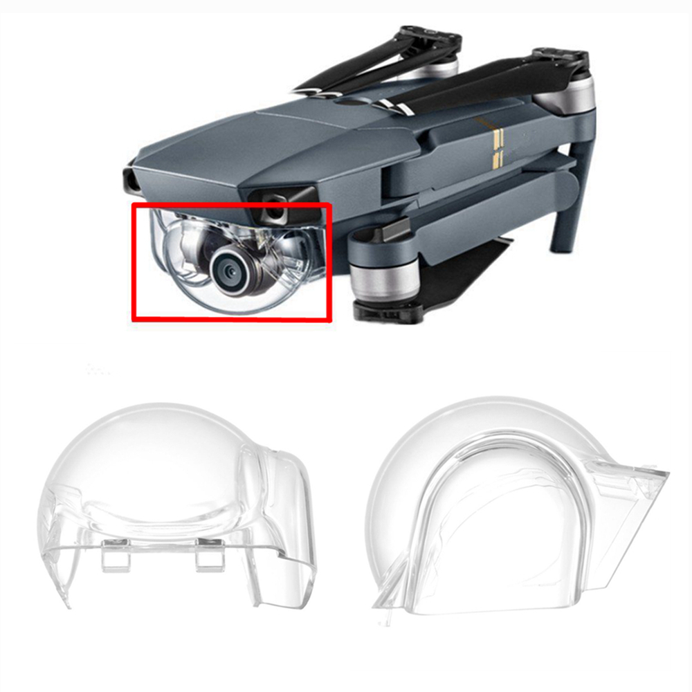 For DJI Mavic Pro Drones Cam Lens Protector DJI Mavic Pro Drone Gimbal Camera Lens Hood Cover Transparent Shell Protective Cap