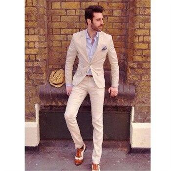 Custom Made costume homme terno Groom Tuxedos Groomsmen Mens Wedding Suits slim fit men suit ( jacket+Pants+tie)