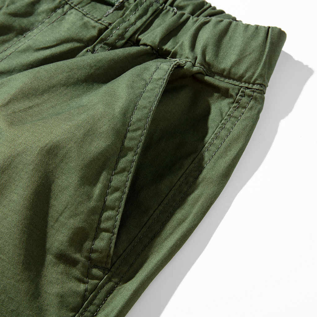 Feitong 2019 mężczyźni spodnie Hip Hop męskie fajne lato Hot Spodnie dresowe z wieloma kieszeniami wiosna kombinezony spodnie dresowe