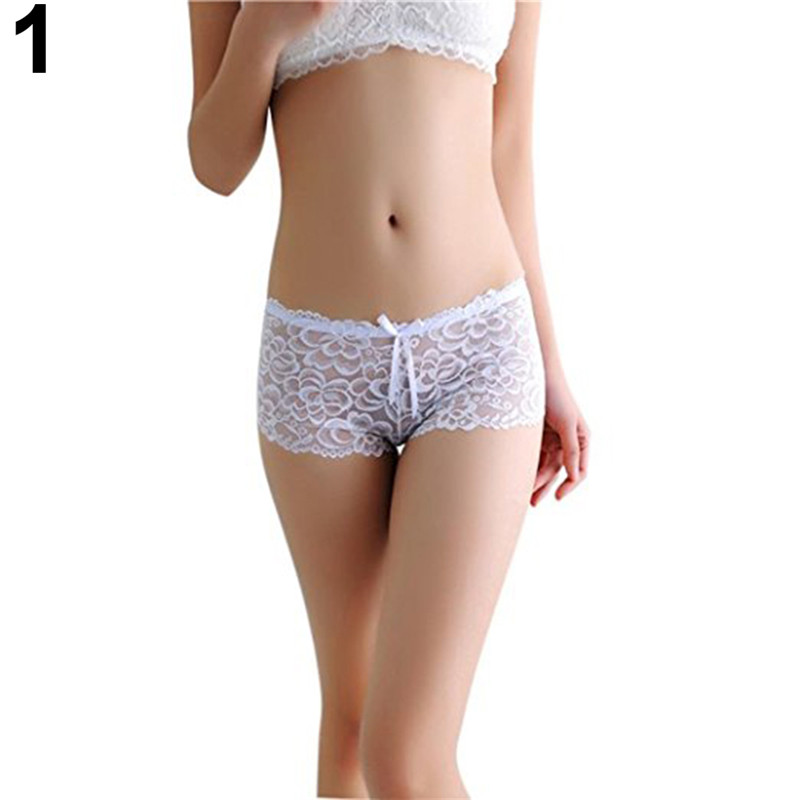 Sexy Lace Panties Women Fashion Lingerie Floral Seamless Panty Briefs Boxer Shorts Women Underwear Low Waist