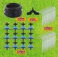 20 м 3/5 мм шланг микро капельная система капельницы домашний сад бонсай полива ирригационные наборы с 1/8