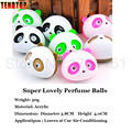 The car outlet perfume panda tuyere perfume a pair four color optional car perfume