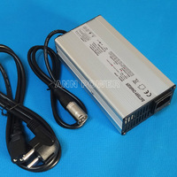 Free Shipping! lithium battery 36V 4A charger 36V4A For 36V 10Ah 12Ah 15Ah and 20Ah battery charging Ouput 42V 4A charger