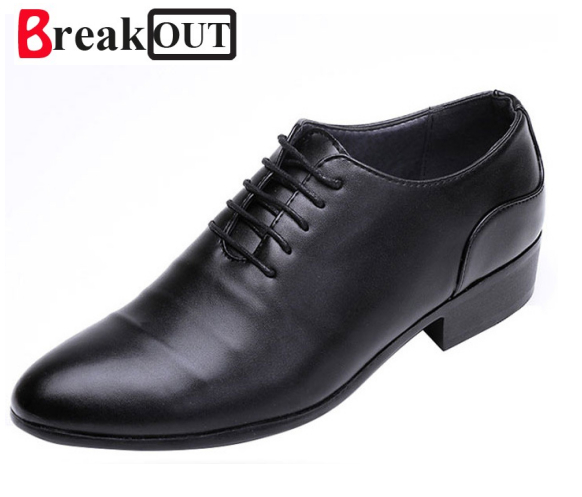 Break Out New Fashion PU Leather Shoes Men,Lace-up Wedding Shoe,Men Dress Shoes,British Style Men Oxfords Shoe For Male Hot patent leather men s business pointed toe shoes men oxfords lace up men wedding shoes dress shoe plus size 47 48