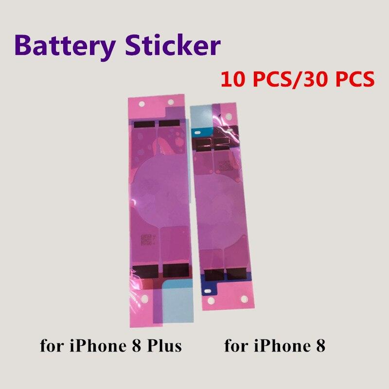10 шт./лот Батарея Стикеры клей Потяните газа <font><b>Tab</b></font> клей для iphone 8 8 плюс 8 плюс Замена Ремонт Запчасти клей в акции