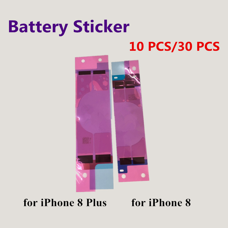 10PCS/lot Battery Sticker Adhesive Pull Strip Tab Glue For iPhone 8 8 Plus 8Plus Replacement Repair Parts Glue in stocks
