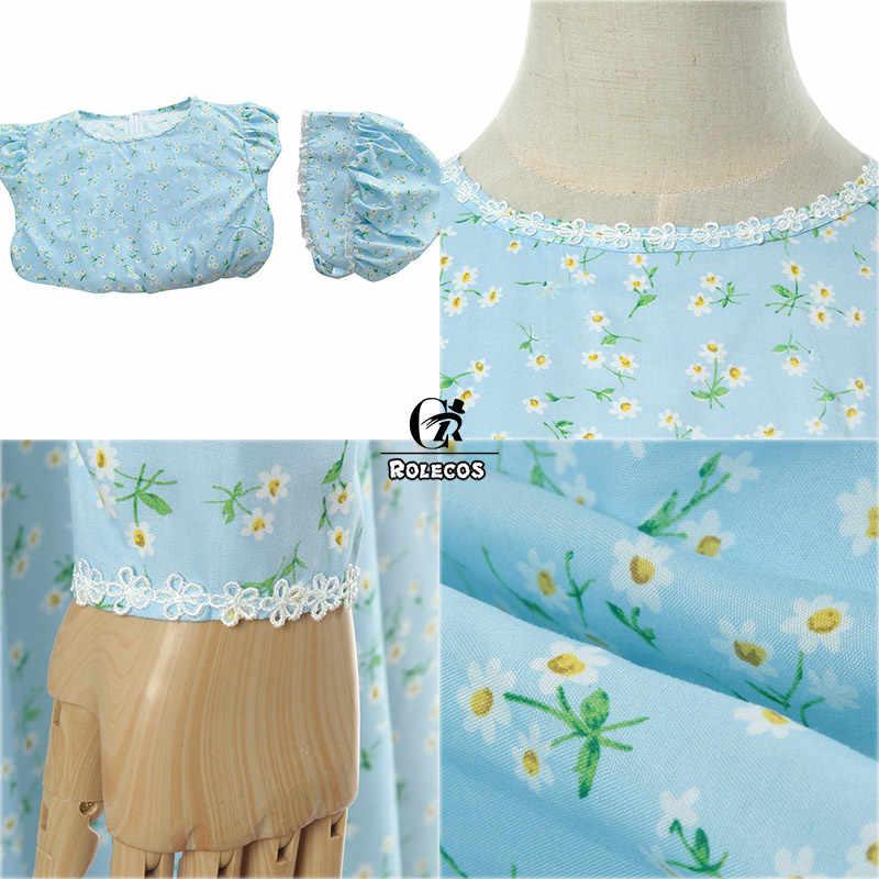 ROLECOS Maid Lolita Ăn Mặc Hat Victoria Thời Trung Cổ Váy Nữ chất Liệu Bông Retro Cổ Điển Ăn Mặc Dài Tay Áo Đáng Yêu Trang Phục Bên