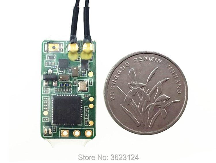 Image 4 - Feiying FrSky XM/XM Plus Ultra mini 16Ch S.BUS Receiver for FPV Drone-in Parts & Accessories from Toys & Hobbies