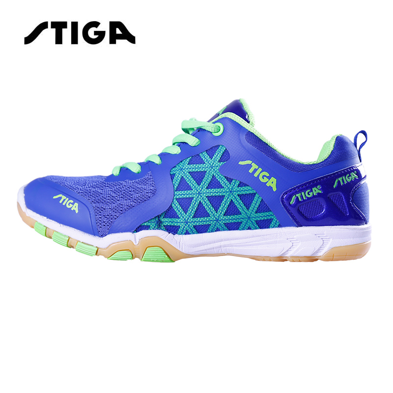 Original Stiga Table Tennis Shoes Sports Sneakers Mens Stability Anti-slip Zapatillas Deportivas Mujer Ping Pong Racket Shoe