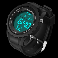 2018 Luxury Brand Mens Sports   Watches   Dive 30m   Digital   LED Military   Watch   Men Fashion Casual Electronics Wristwatches Hot Clock