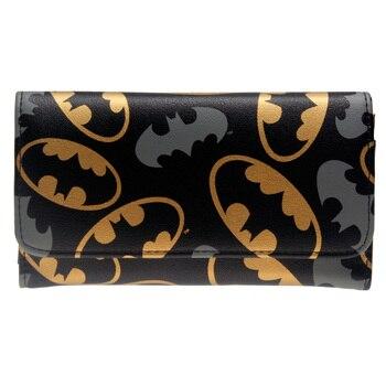 Кошелек Бэтмен черный с эмблемами