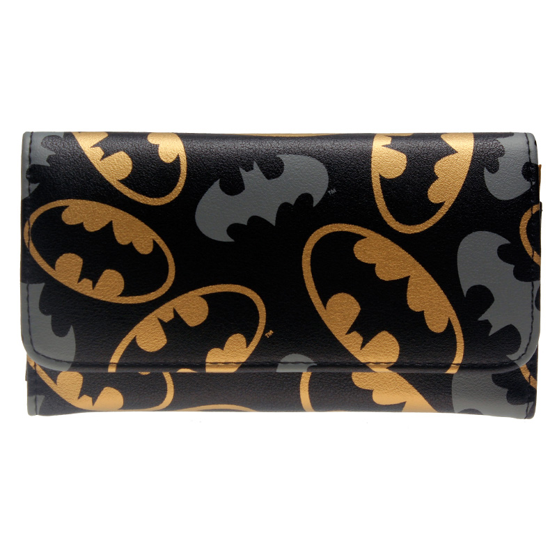 batman wallet Fashion Women Wallets Women's Long Design Purse Two Fold More Color Clutch DFT-6015