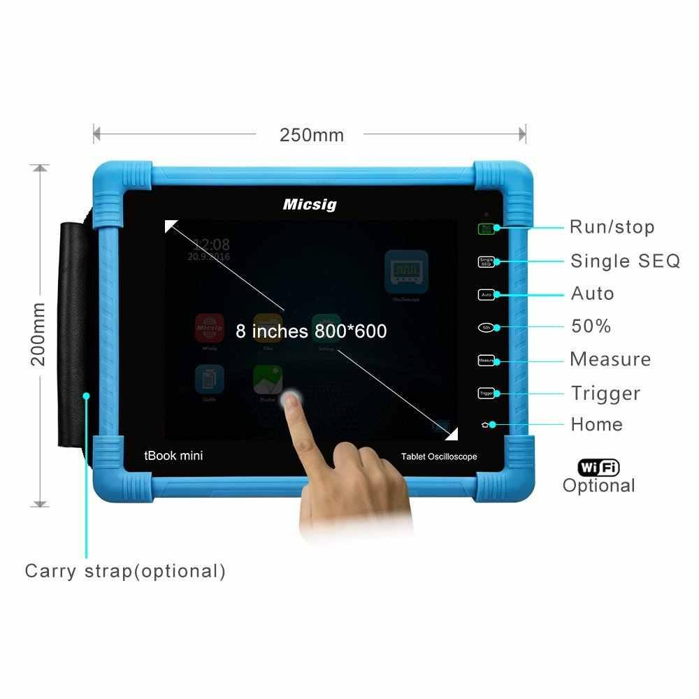 2019 デジタルタブレットオシロスコープ TO1102 100MHz 2CH 1 1g の Sa/s のリアルタイム · サンプリングレートオシロスコープ自動車オシロスコープキット