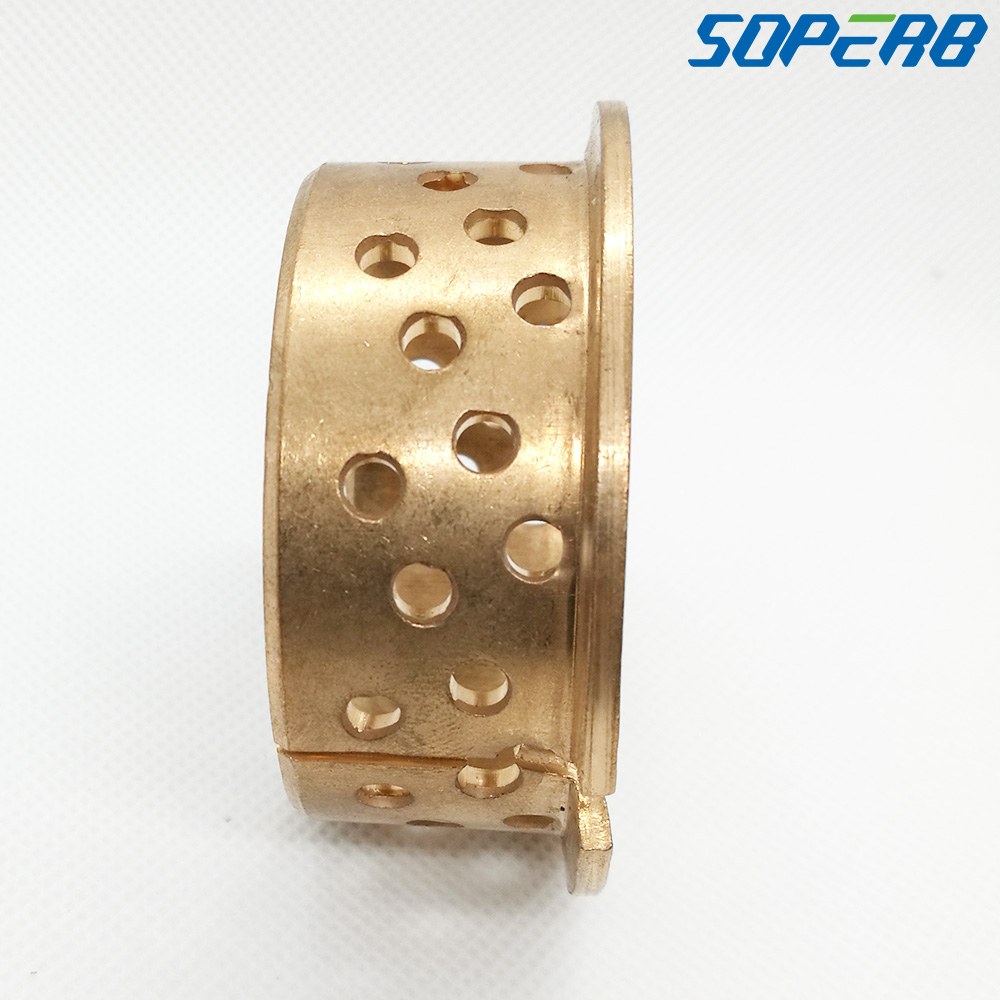 Self lubricating Harden 5025F 50x55x65x25mm WF WB802 WB702 FB092 slide bearing bronze wrapped bushing sliding bush in Bearings from Home Improvement