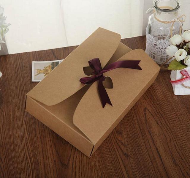 Qin 01 03 21 5 14 5cm Diy Handmade Gift Boxes Kraft Paper Gift Box