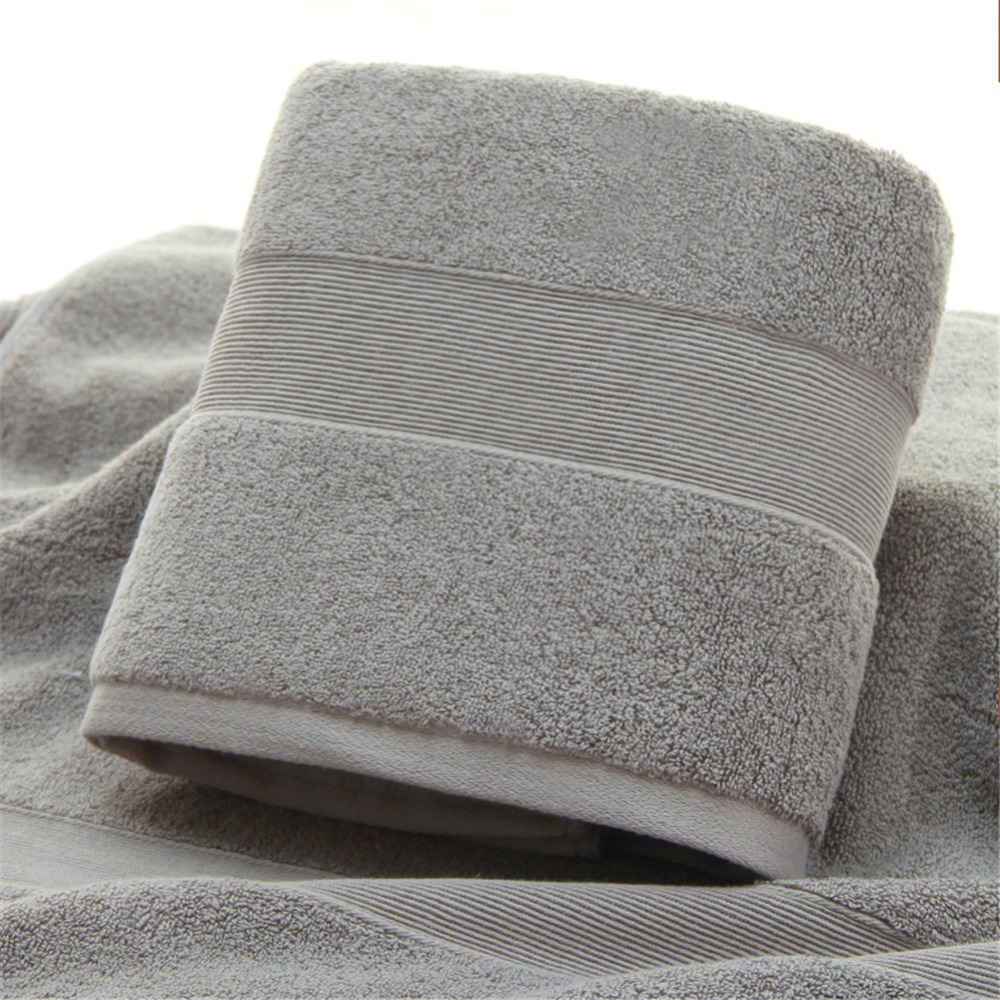 Image 3 - Ultra Soft 2 Pack Bath Towels 70*140cm 100% Pure Ringspun Cotton  Ideal for everyday use Easy care machine wash-in Bath Towels from Home & Garden