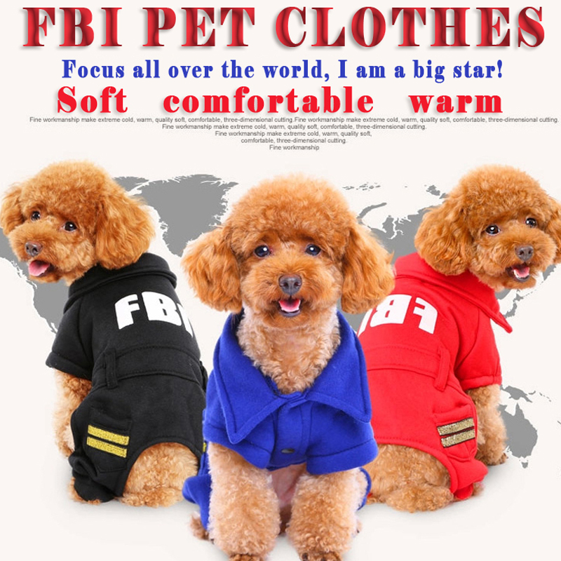 Cool Winter Warm Small Dog chihuahua Pet fleece Clothes jacket FBI camouflage army dog costume clothes Hoodie skiing Jumpsuit