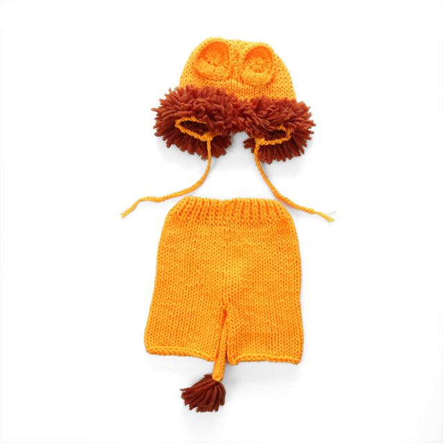 da6eedeff Newborn Lion Costume   2018 Newborn Knit Lion CostumeHandmade ...