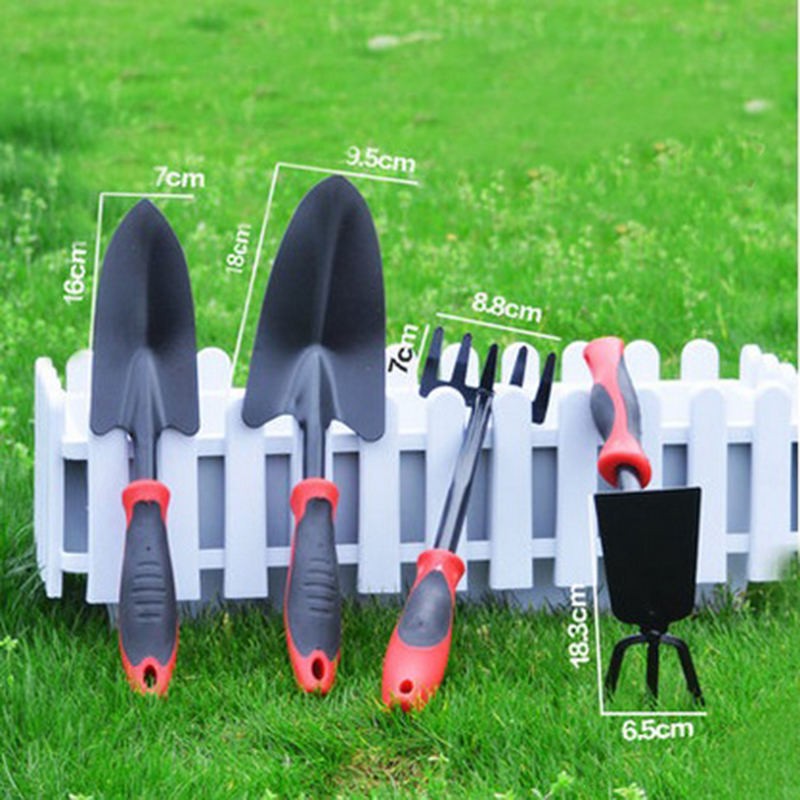 2017 4pcs Carbon Steel Garden Tool Set Garden Plants Potted Flowers Mini Gardening  Tools Spade U0026 Shovel Free Shipping In Hand Tool Sets From Tools On ...