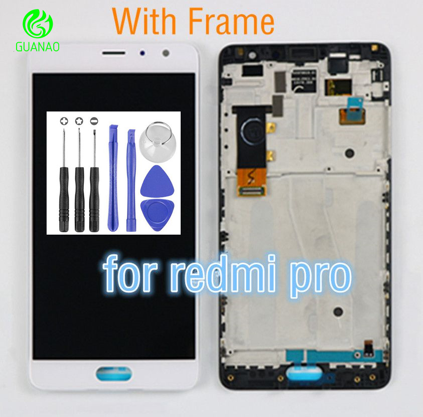 For XiaoMi RedMi Pro LCD Touch Screen Digitizer Assembley Replacement Parts For XiaoMi RedMi Pro Display LCD Touch Screen