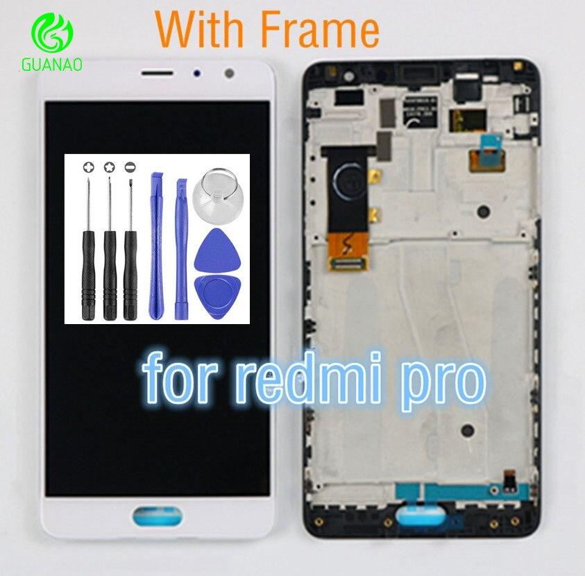 Pour XiaoMi RedMi Pro LCD Écran Tactile Digitizer Assembley Pièces De Rechange Pour XiaoMi RedMi Pro Affichage LCD Tactile Écran