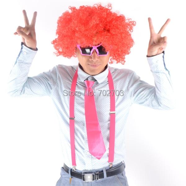 Halloween cosplay Fancy dress Sirk kostyum aksessuarı qırmızı - Şənlik aksesuarları - Fotoqrafiya 3