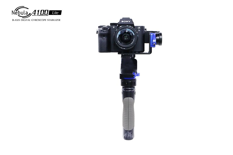 Nebula 4100 Lite 3-Axle Handheld Brushless Gimbal Stabilizer Digital Gyroscope Infrared Function For DSLR Cameras F20171 арктика 4100 3