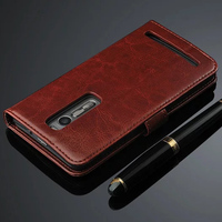 Vintage Wallet PU Leather Flip Cover Case For ASUS Zenfone2 ZE551ML ZE550ML 5 5 With Stand