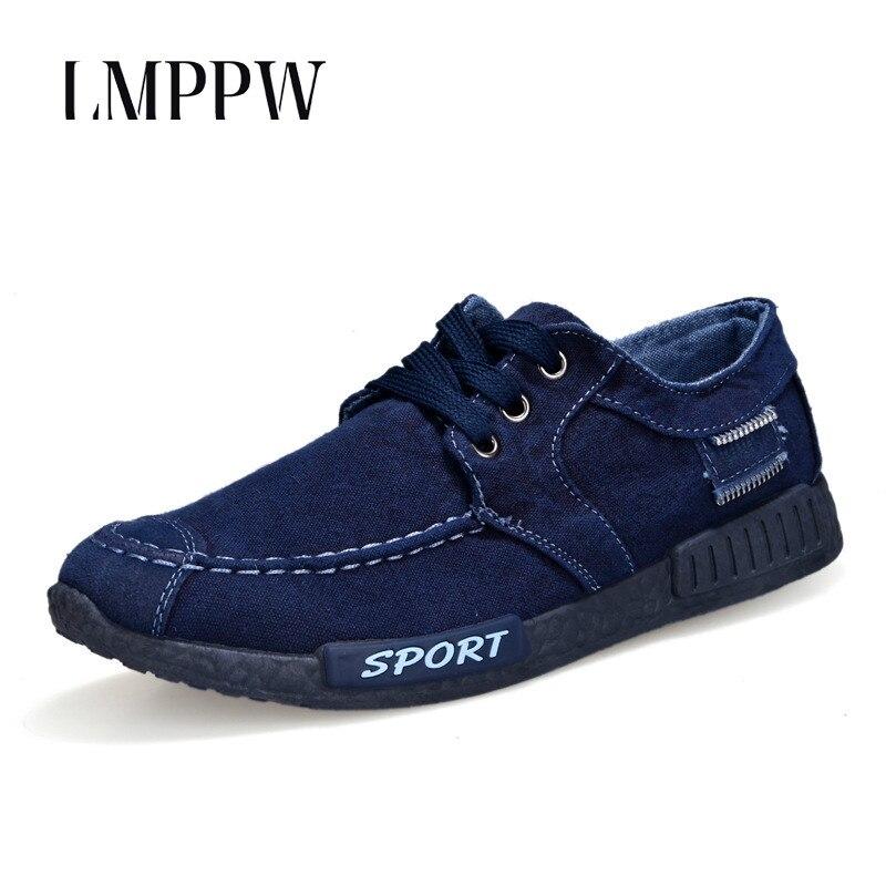 2019 Männer Wohnungen Schuhe Mode Leinwand Schuhe Männer Casual Schuhe Sommer Atmungsaktiv Männlichen Turnschuhe Outdoor Männer Fahren Boot Schuhe