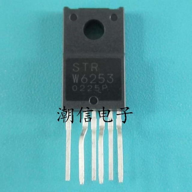1pcs/lot STR-W6253 STRW6253 W6253 TO-220F In Stock