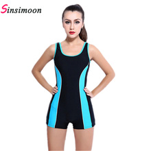 New Competition Professional Swimwear Women Sport Swimsuit Racing One Piece Swimwear Female boxer Shorts Plus Size Bathing Suit hxby black full swimsuit men competition racing plus size swimwear women one piece women s swimsuits swimming suit for women