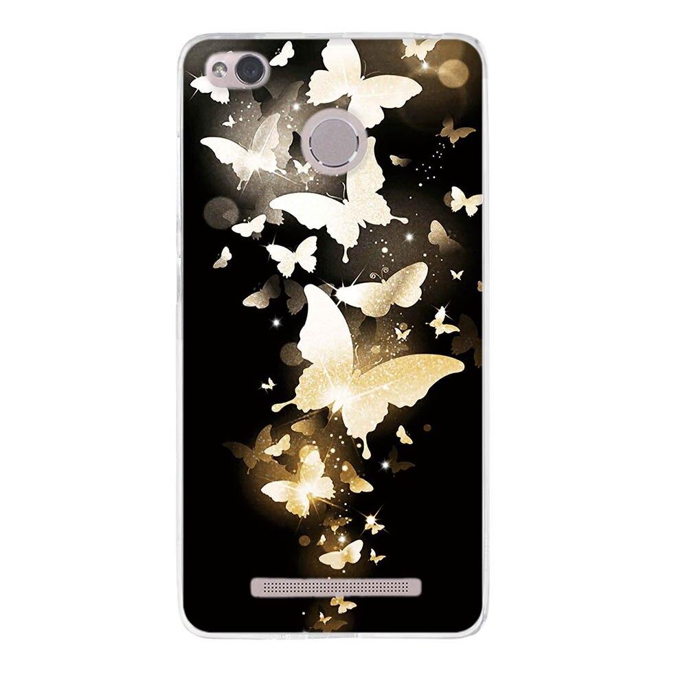 Case For Xiaomi Redmi 3S Case Silicon Phone Case For Xiaomi Redmi 3S Cover 3D TPU Soft Coque For Xiaomi Redmi 3S 3X 3 Pro Fundas