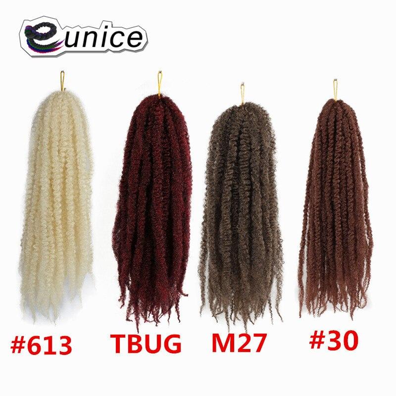 Marley Braids Hair Extension Synthetic Ombre Afro Kinky Crochet Kanekalon Braiding Hair (11)