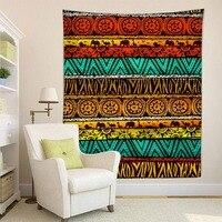 HommomH Tapestry Art Decor Wall Hanging in Dorm Living Room Bedroom African Steppe Elephant Lion Giraffe Croco