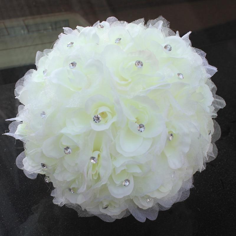Bescheiden Drei Größe Hochzeit Blume Bouquet Braut Bouquets Pfingstrosen Bouquet Mariage Hochzeit Zubehör Künstliche Hochzeit Bouquets Hell In Farbe