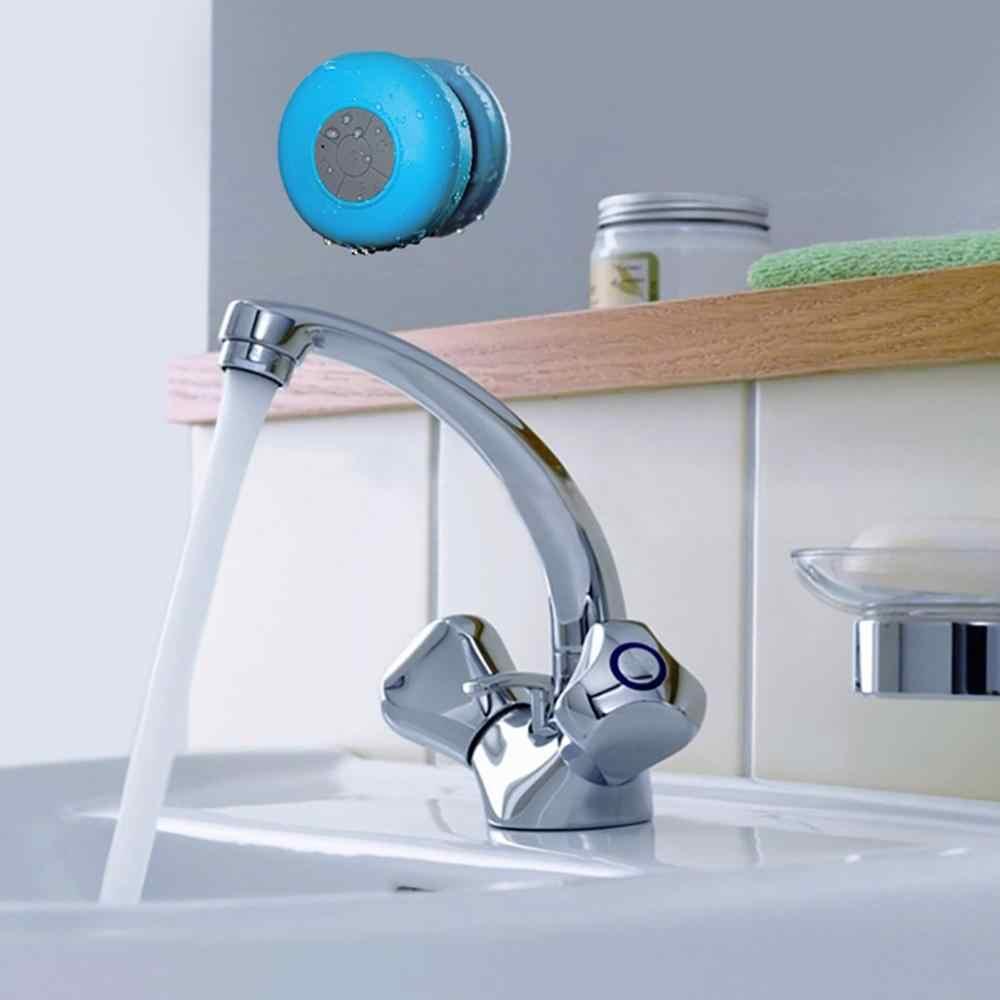 Водонепроницаемый беспроводной Bluetooth динамик ванная комната мини Модные музыкальные инструменты с присоской