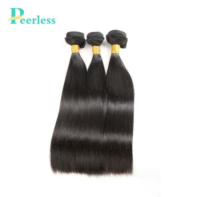 Peerless Hair Brazilian Straight Hair 3bundles 100 Remy Human Hair