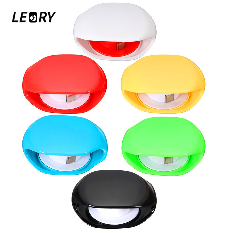 LEORY Auto Cable Cord Wire Organizer Winder Smart Wrap For Headphone Earphone High Quality
