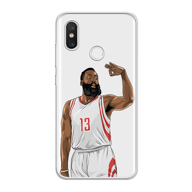 ciciber For Xiaomi MIX MAX 3 2 1 S Pro TPU For Xiaomi A2 A1 8 6 5 X 5C 5S Plus Lite SE Poco Phone F1 Case Sports Basketball Capa