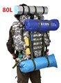 80L Большая Емкость Мужчины Женщины Военная Рюкзак Водонепроницаемый Альпинизм Рюкзаки Большой Походы Дорожная Сумка Камуфляж